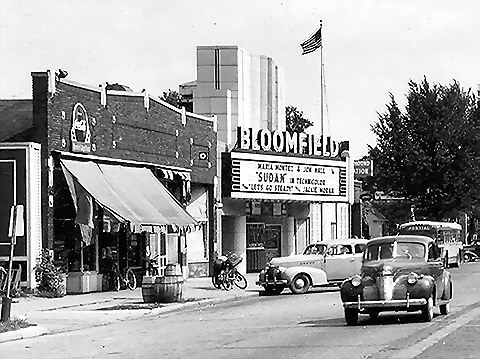 Bloomfield Theatre - RARE PHOTO OF THE BLOOMFIELD