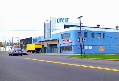 Civic Detroit Theatre - THE CIVIC A FEW YEARS BACK