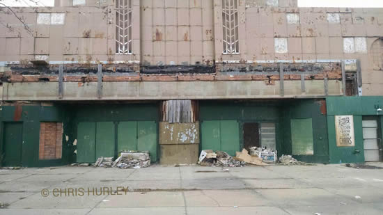 Civic Detroit Theatre - FROM CHRIS HURLEY