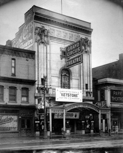 Grand Circus Theatre - OLD PHOTO