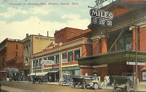 Miles Theatre - OLD POST CARD