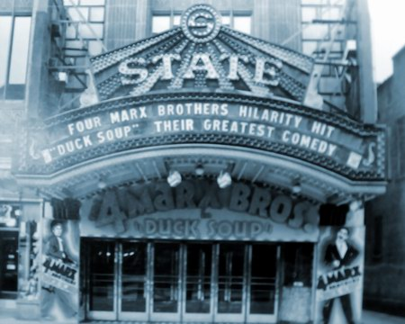 The Fillmore Detroit - OLD STATE MARQUEE