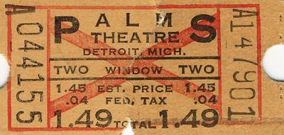The Fillmore Detroit - FROM ROBERT MORROW