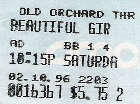 Old Orchard 3 - TICKET