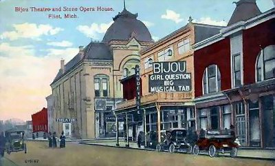 Bijou Theatre - ANOTHER POST CARD