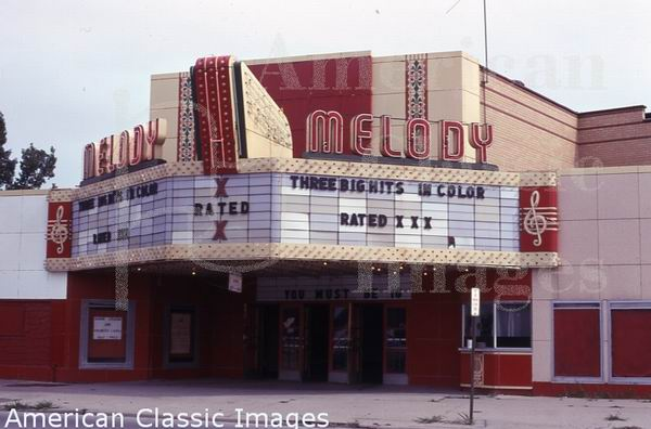 Melody Theatre - FROM AMERICAN CLASSIC IMAGES