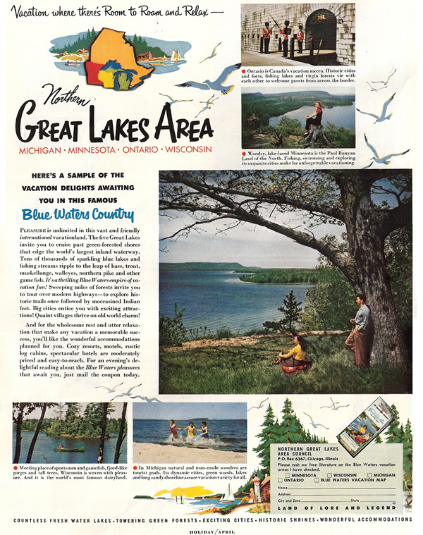 GREAT LAKES MAGAZINE AD