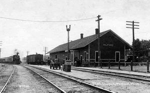 MILFORD DEPOT FROM BOB MINEAU OLD