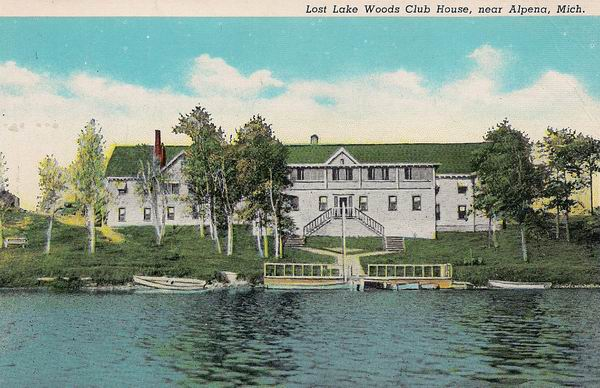 LOST LAKE WOODS CLUB HOUSE ALPENA