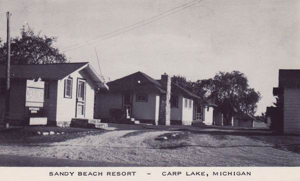 SANDY BEACH RESORT CARP LAKE