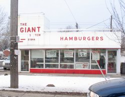 GIANT BURGERS DOWNRIVER