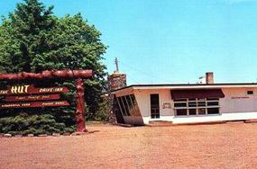 HUT DRIVE-IN CADILLAC