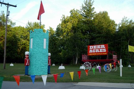 Deer Acres Storybook Amusement Park - FRONT LAWN