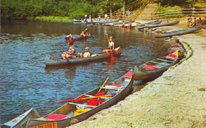 AUSABLE RIVER CANOES